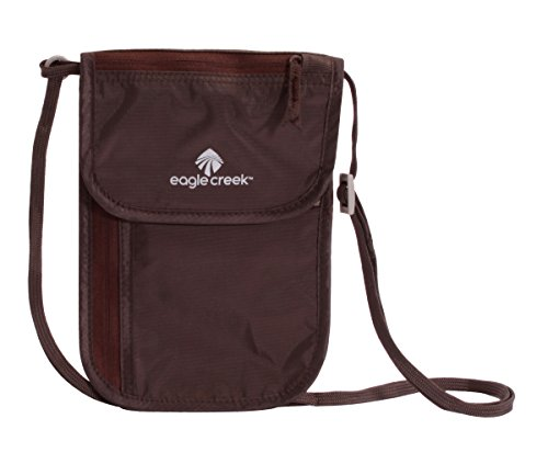 eagle-creek-undercover-neck-wallet-dlx-portadocumenti-da-collo-20-cm-marrone