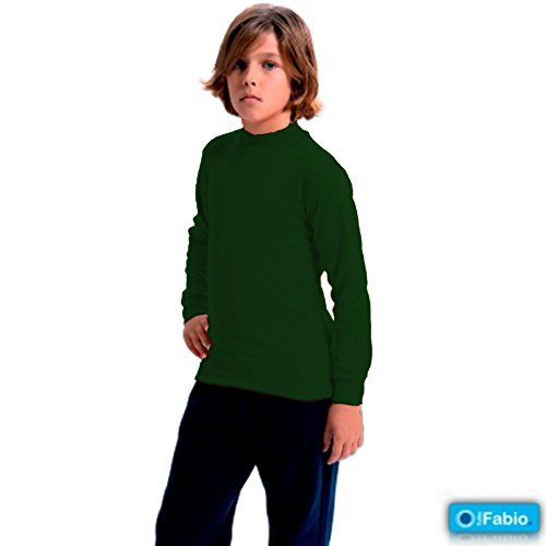 FABIO - Camiseta Carnaval Infantil niñas Color: Botella 258 Talla: 10