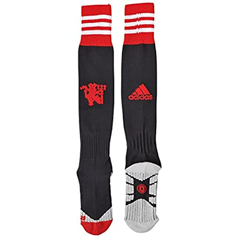 Adidas H MUFC Sock Chaussettes homme Multicolore Negro / Rojo / Blanco 3