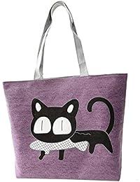 Fulltime(TM) New Trend Women Apparel Canvas Shoulder Bag Messenger Shopping Bag