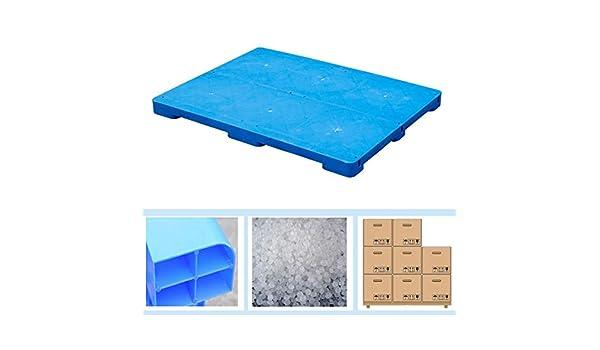 Warehouse LIANGJUN Plastic Pallets Lightweight Pallet Storage Racks Polyethylene Waterproof Wear-Resistant Goods Moisture-Proof Sturdy Strong Load Bearing Basement