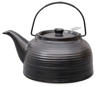 1,5L Grande Nelly en résistant à la chaleur Théière en céramique avec passoire en acier, original Aricola