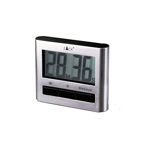 ZACK 20650 Savio Kurzzeitwecker, digital, magnetisch, Edelstahl matt
