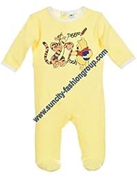 Pijama algodón bebé niño Winnie the Pooh y Tigger Azul y amarillo de 3a 23meses