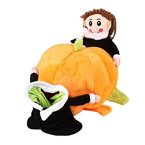 Kicode attachmenttou halloween festival natale quattro piedi cucciolo morbido accappatoio in cotone fancy costume zucca vestiti del cane