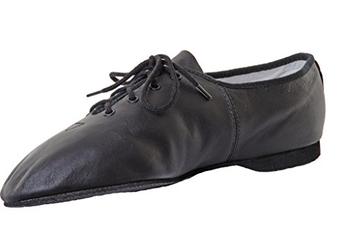 Bloch SO462 Leather Full Sole Jazz Shoe – Black – 13 UK small