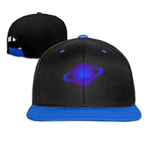 uykjuykj Baseball Caps Hats Funny Bag Blue Planet Solid Flat Hip-hop Baseball Caps Snapback Hat Unisex Adjustable Unique Personality Cap Baseballmütze