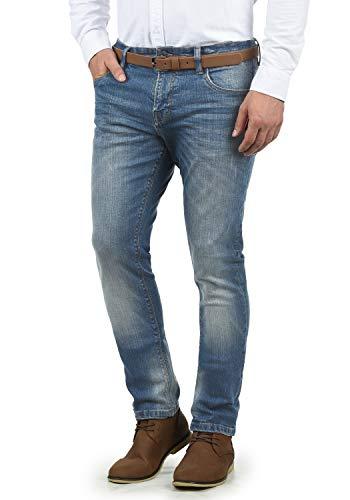 Indicode aldersgate - jeans da uomo, taglia:w33/32, colore:blue wash (1014)