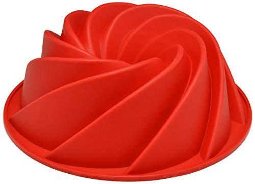 Cherion Silicone Fluted Mold Bunt Pan-Spiral by Cherion Fluted Mold Pan