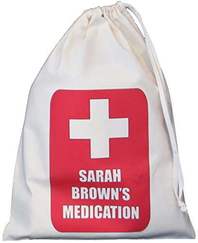 personalised-medication-storage-bag-red-cross-small-natural-cotton-drawstring-bag-supplied-empty