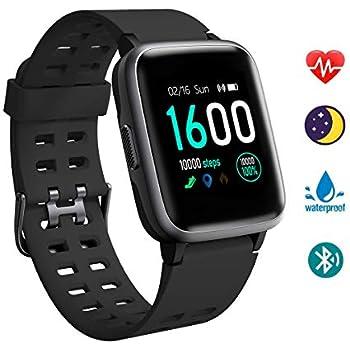 YAGALA Smartwatch Hombre, Reloj Inteligente Mujer, Impermeable ...