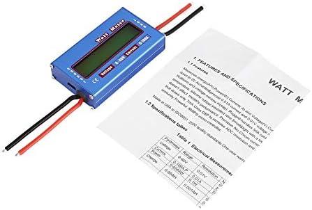 8Eninine Testeur d'analyseur de Compteur d'énergie de Courant de Watt Watt Watt de Tension numérique pour Le modèle Bleu de RC | Elaborer  d2f434