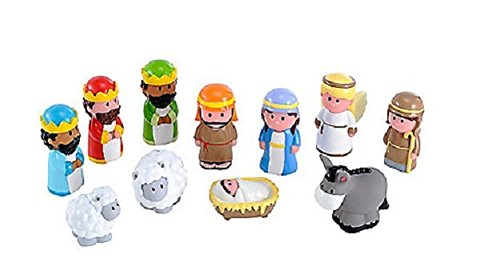 Image of Happyland Nativity Set by Early Learning Centre