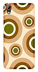 TrilMil Printed Designer Mobile Case Back Cover For HTC Desire 628