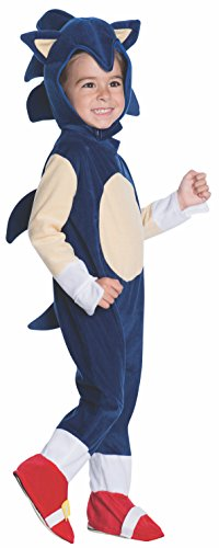 Rubies Kostüm Co. Inc. Unisex-Erwachsene, Motiv: Sonic der Igel-Baby ()