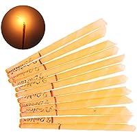KAIMENG 12 stücke natürliche ohr kerzen ohr wachskerze entfernung kit bienenwachs candling kegel preisvergleich bei billige-tabletten.eu