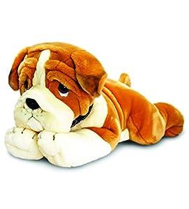Keel Toys 64715 - Peluche de Perro Bulldog (120 cm)