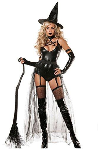 Shangrui Weibchen Cosplay Kostüm Serie Hexe Bodysuit Kostüm Mit (Kostüme Russische Ideen)