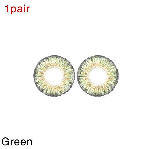 1 Paar Kontaktlinsen Kosmetik Cosplay Augen Charme und attraktive Kosmetik Make-up Lidschatten für Halloween 12 Farben