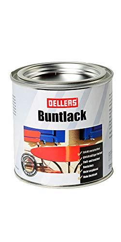 Preisvergleich Produktbild Buntlack / Metalllack / wirksamer Metall-Schutzlack / glänzende Metallfarbe / leichte Verarbeitung / Metallschutzfarbe mit hoher Deckkraft / Rostschutzfarbe (375 ml,  RAL 3020 Verkehrsrot)