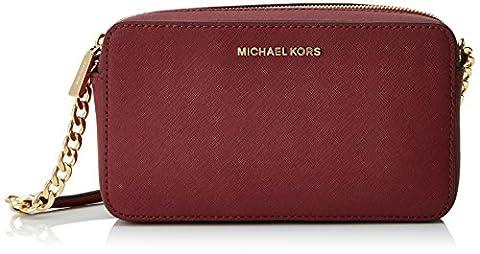 Michael Kors Crossbodies 32T6GTVC6L, Sacs bandoulière femme, Morado (Mulberry), 4.5x12.7x21.6 cm (W x H L)