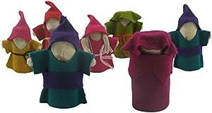 Lichee Toys 105013-Figuras Juego en Bolsa de algodón para niños pequeños