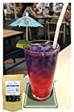 Blaue Klitorie Blüten (blue butterfly pea flower) Premium Qualität (A+) 100% rein und vegan - Ideal geeignet für Gin Herstell