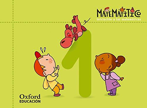 Matematitico 3 años. Cuaderno 1 (Matematítico) - 9788467367065