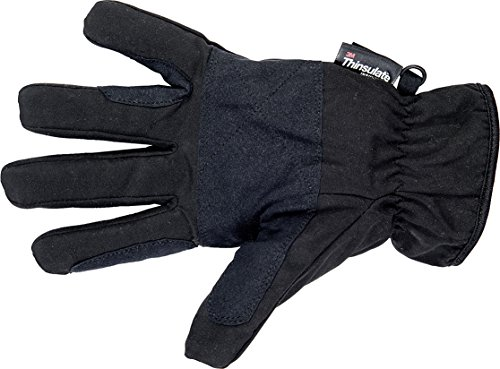 HKM Damen Winter-Reithandschuh mit Thinsulatefüllung Handschuhe, Schwarz, XL