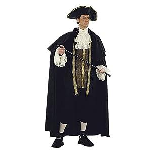 Limit Sport - Disfraz de veneciano de época para adultos, talla XL (DA116)