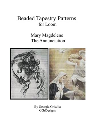 Bead Tapestry Patterns for Loom Mary Magdalene and The Annunciation