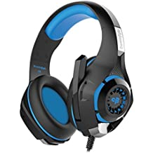(CERTIFIED REFURBISHED) Cosmic Byte GS410 Headphones With Mic And For PS4, Xbox One, Laptop, PC, IPhone And Android Phones (Black/Blue)