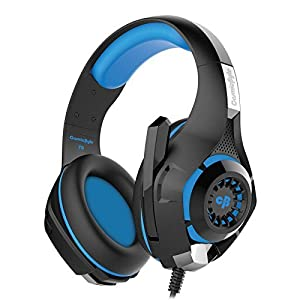 Kotion Each GS410 Headphones with Mic and for PS4, Xbox One, Laptop, PC, iPhone and Android Phones