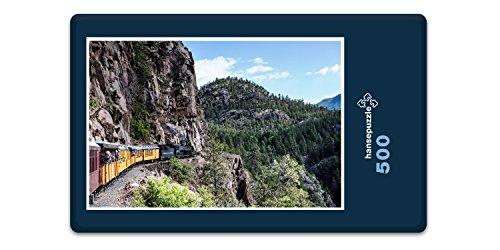 hansepuzzle-19617-reisen-durango-silverton-rail-500-teile-in-hochwertiger-kartonbox-puzzle-teile-in-
