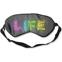 Comfortable Sleep Eyes Masks Creative Life Pattern Sleeping Mask For Travelling, Night Noon Nap, Mediation Or... preisvergleich bei billige-tabletten.eu