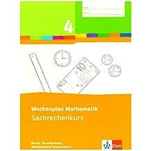 Wochenplan Mathematik / 4. Schuljahr: Themenheftpaket. Ausgabe Brandenburg, Berlin, Mecklenburg-Vorpommern