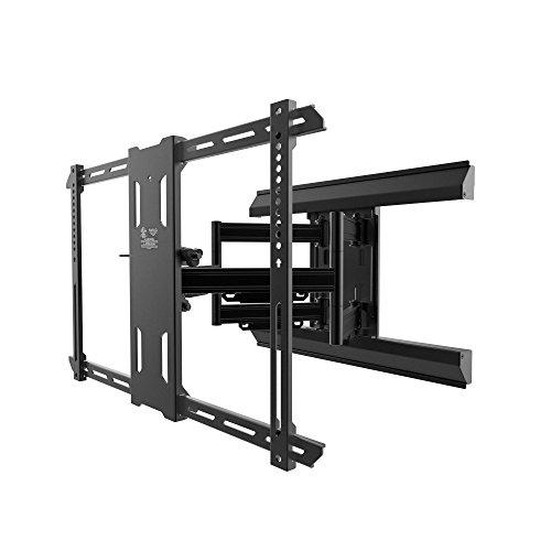 Kanto Full Motion pmx660Pro Series Halterung für 94cm bis 203,2cm Flat Panel TVS, schwarz Flat Panel-schwarz