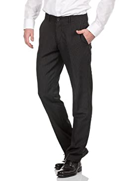 Selected Homme Herren Anzughosen one treat black pin trouser