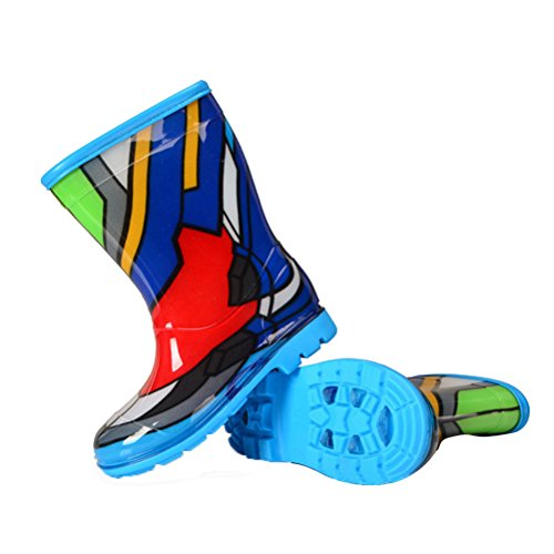 Laixing Qualité Rubber Boots Light Boy And Girl Are Applicable SKY 177 Multicolore