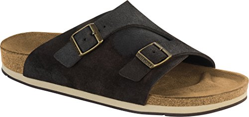 birkenstock-zurich-suede-leather-finish-scarpe-sandali-camoscio-vintage-42-eu-brown
