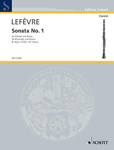 Sonate 1 Clarinette