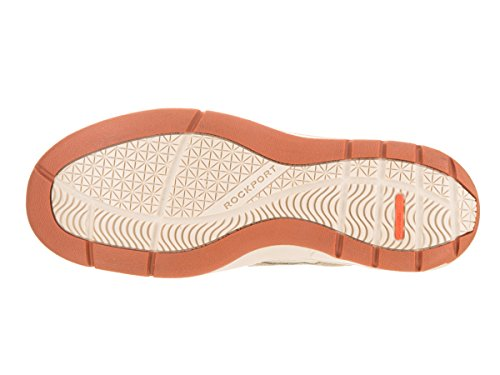 Rockport Cshorebound 3-Eye Cuir Chaussure de Bateau Sable