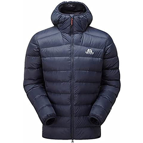 MOUNTAIN EQUIPMENT MENS SKYLINE HOODED JACKET COSMOS (X-LARGE)
