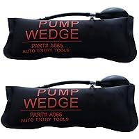 URXTRAL Air Wedge Pompe à air Coussin gonflable en Plastique Air Pump Wedge Up Outil Alignement Outil Inflatable Shim Coussiné Puissant (Large 2PCS)