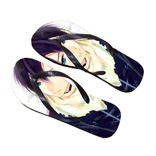 Bromeo Noragami Anime Unisex Flip Flops Zehentrenner Flip Pantoffeln 515