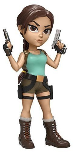 Funko 11644 Actionfigur Rock Candy: Tomb Raider: Lara Croft