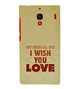 EPICCASE Love Hope Mobile Back Case Cover For Xiaomi RedMi 1S (Designer Case)