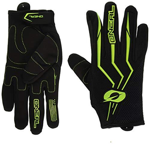 O\'Neal Element MX Handschuhe Motocross TPR DH Downhill Enduro Offroad Mountain Bike, 0392, Farbe Gelb, Größe L