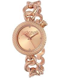 Just Cavalli R7253137501 - Reloj con correa de metal, para mujer, color rosa