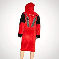 Groovy Uk Mens Deadpool Dressing Gown Red